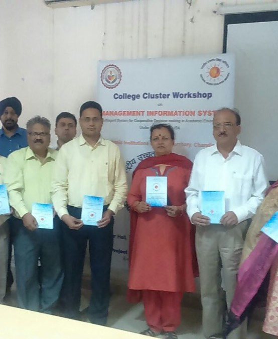 MIS Inauguration and Workshop in PGGC, Sector-11, Chandigarh