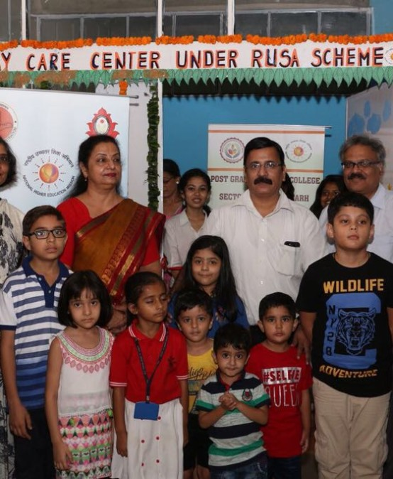Day Care centre under RUSA scheme inaugurated at PG Govt College for Girls, sector 42 , Chandigarh