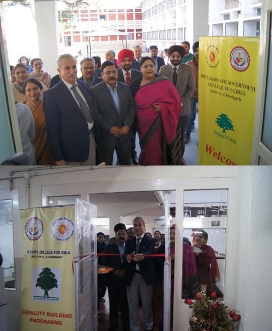 Skill Development Lab inaugurated at PGGCG-11, Chandigarh
